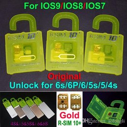 Newest Unlock sim Card R-SIM 10+ Original RSIM 10+ RSIM10+ unlock for iphone 6 6s 6plus 5s 5 4s ios9 iOS7.X 8.X ios9.x 3G 4G WCDMA GSM CDMA