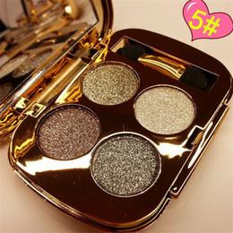 Wholesale Explosion models color eye shadow waterproof shine eye shadow for beauty girl Beauty essential tool G429