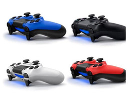 Wholesale PS4 Wireless Bluetooth Game Controllers PlayStation Gamepad for ps4 Controller Joystick for Android computer ps4 video games