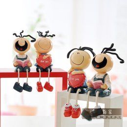 Wholesale Creative pastoral continental sanmao a flimsy resin dolls doll IKEA clapboard furnishings study ornaments