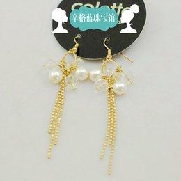 Wholesale Kan Singh blue jewelry original single pearl earring original price of