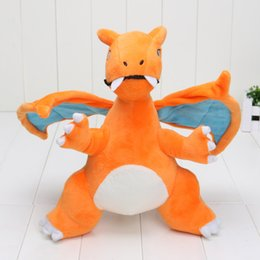 Wholesale Charizard quot Pikachu Plush Doll Stuffed Toy Charizard Soft Stuffed Plush Doll toys Cartoon Christmas Gift for Kid