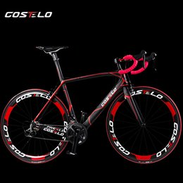 Wholesale 2015 Brand New Costelo carbon road bicycle complete cheap road bikes T1000 bicicleta carbono full carbon road bicycle
