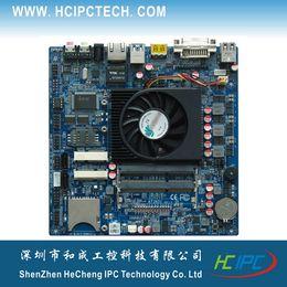 Wholesale HCIPC M433 ITX HCMT3X21A AMD Kabini Mini ITX COM USB3 USB2 GPIO MINI PCIE DDR3 VGA DVI HDMI V DC