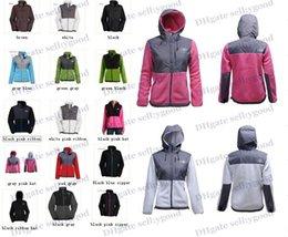 Wholesale Fashion Women Fleece Jacket Woman Fleece Jacket Windproof Coat Outdoor Mountaineering Sportswear Black White Pink Size S XX