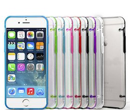 Wholesale Iphone Plus Transparente Ultra Thin duro cristalino de TPU caso de la cubierta para el iPhone S S iPhone6 M8 Samsung Galaxy Nota S4 S5