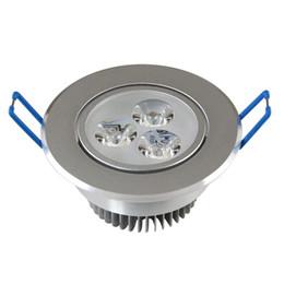 Wholesale LED downlight ceiling 3W 5W 7W 9W 15W 18W Down light LED Ceiling Downlights Dimmable LED dimmable Lamps Warm White 110-240V