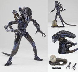 Wholesale 15CM SCI FIRECOLTECK Aliens Series No Alien Warrior Boxed PVC Action Figure Collectible Model Toy