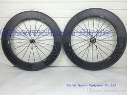 Wholesale 2015 Newest dark decal wheels full carbon wheel mm rim bicycle wheelset with powerway R36 straight pull hubs or novatec hubs