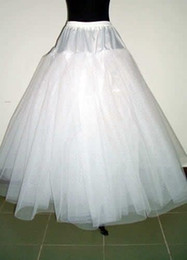 Wholesale 2015 Petticoats for Ball Gowns Adjustable Sizes Crinoline Bridal Accessories Underskirt for Wedding Prom Quinceanera Dresses