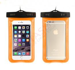iPhone 7 6 plus 5 6S Plus Waterproof case samsung galaxy s6 s5 mobile phones waterproof dry cell phone water proof neck pouch bags