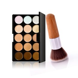 Professional Salon Party Make up 15 Colors Contour Palette Face Cream Makeup Concealer Palette Contouring Makup Brush