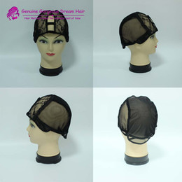 10pcs Real Picture High Quality U part wig Caps for Making Wigs Stretch Lace Weaving Cap Adjustable Straps