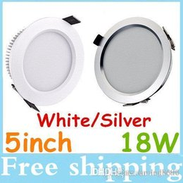 Warranty Dimmable 18W Led Lights Fixture Downlights 5 Inch 160 Angle SMD 5630 Led Recessed Ceiling Light Warm Cool White AC 110-240V