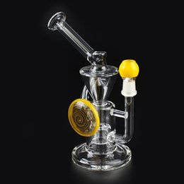 Wholesale Recycler Glass Oil Rigs Bongs Glass Water Bongs Water Pipes New Arrival mm Joint ML05005 TZ