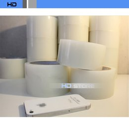 Wholesale PE mobile phone screen film mm mm mm dedust film stick ash tape dust film sticky dust removal tape