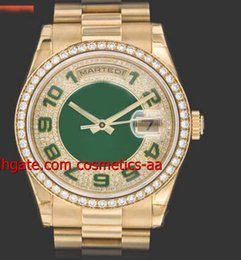 lUXURY WATCH NEW Top Quality Men's Watches 39mm 18K YELLOW GOLD DIAMOND WATCH REF. 118348 Men's Watch