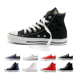 HOT SELLING Classic Unisex shoes Low-Top & High-Top sneakers shoes Men's Women's casual canvas shoes Board star Shoes all size 35-45