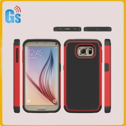 Soft Silicone + PC Hard Case Football Grain Design Combo Hybrid Cover For Samsung Galaxy S7 Plus