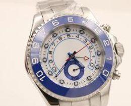 Famous Brand Luxury AAA Swiss Spphire Blue Bezel Sport Mens Stainless Steel Watch Men Automatic Movement Mechanical Wristwatch Free Shiping
