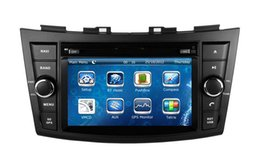 Wholesale 7 quot Car DVD Player for Suzuki Swift w GPS Navigation Radio TV BT USB SD AUX Map Auto Audio Video Steroe Navigator