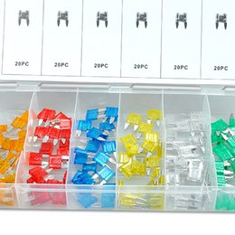 Wholesale New pc Blade Fuse Assortment Auto Car Truck Motorcycle FUSES Kit ATC ATO ATM