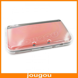 Wholesale-Hard Crystal Case Clear Cover Shell for Nintendo New 3DS XL LL Free Shipping