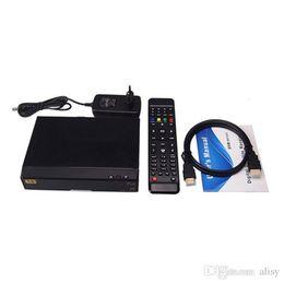 Wholesale Openbox V8 PRO COMBO TV Box Satellite Receiver HD DVB S2 DVB T2 DVB C Twin Tuner Support USB WiFi CCcamd NEWcamd Smart TV Box