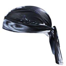 Wholesale-bicycle headband bandana pirates scarf bike hats cycling head wear cap 2015 men