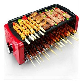 Wholesale Electric Barbecue Household electric oven Korean smoke free barbecue grill machine big size