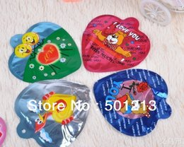 Wholesale Auto self inflatable balloon I Love you designs within secret bag self bomb cm