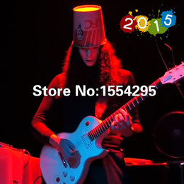 Wholesale Custom Shop Frets LP Electric Guitar Buckethead guitarra with Staccato switch All Color are available