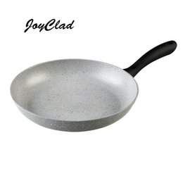 Wholesale Marble frying pan Heat Isolated Handle PFOA free stone Coated non stick frying pan kitchen cooking tools