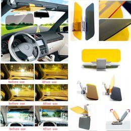 Wholesale HD Anti Glare Dazzling Goggle Day Car Sunshade Night Vision Driving Mirror Sun Visors
