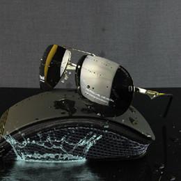 P8501 Polarized Aviator Sunglasses Men Designer Glasses Porshe Sun Glasses For Driving Frameless With Original Box Oculos