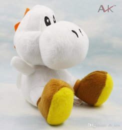 Wholesale 18cm Super Mario Games Yoshi Dragon Toy Anime Stuffed Plush Toyd Collection Doll Toys For Baby Healthy Birthday Present
