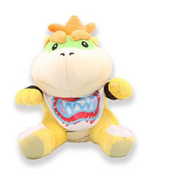 Wholesale 100pcs Super Mario Bros plush toy Bowser JR Plush Doll Toy quot Plush bowser plush bowser JR plush toy By EMS