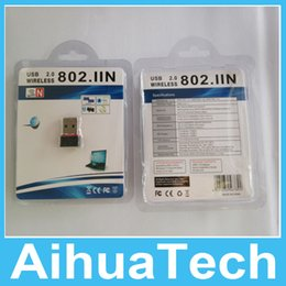 Wholesale Best Mini Nano USB Wifi Wireless Adapter Mbps MT7601 Chip LAN Network Card High Quality Free DHL