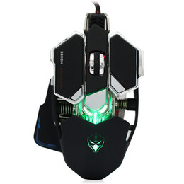 Wholesale G10 DPI Buttons colors Professional Optical Mechanical Gaming USB Macro Programming Wired Computer Games Mouse