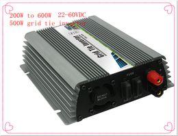 Wholesale 600W DC22V V DC V V Wide DC Input Grid Tie Micro Inverter for home or Wind Power System