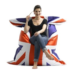 Wholesale cm outdoor furniture beanbags sofa cover uk bean bag beach chair via China post air mail without filling