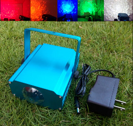Wholesale W Aquarium Water Lines LED Stage Effect Light Volt Lamp KTV Disco Bulb Red Green Blue White Yellow Voice activated