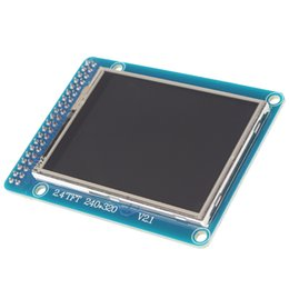Wholesale 2 TFT LCD Display Touch Screen IC Module K Color x for Arduino DBP_103