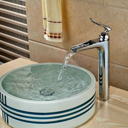 Wholesale Newly Modern Brass Chrome Polish Basin Faucet Bath Vanity Sink Faucet Single Lever Mixer Faucet