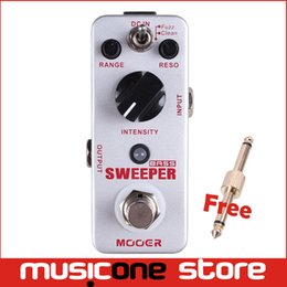 Wholesale Mooer Sweeper Bass Filter Pedal Dynamic envelope filter pedal for both bass and guitar Full metal shell True bypass MU0347