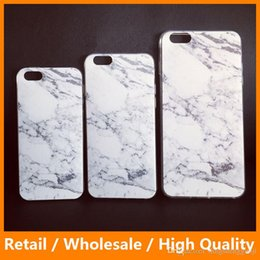 Wholesale Silicone Slim Granite Marble Texture Soft TPU Gel Back Shockproof Case for iPhone6 s Plus sPlus Samsung Galaxys6 s6edge s7 s7edge