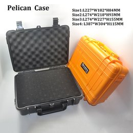 Wonderful VS Pelican Case Waterproof Safe Equipment Instrument Box Moistureproof Locking For Multi Tools Camera Laptop Gun Ammo Aluminium