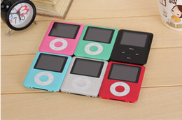 High Quality 20pcs 3TH 1.8 inch 8GB 16GB 32GB MP3 Player Radio FM games mp4 4TH Free shipping