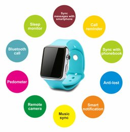 Wholesale Cheapest Fitness Wrist Watches - New Cheap Bluetooth D smartwatch MTK6260 wearable bracelet D Watch with Camera Mate Smartphones for Android mobile phone & iphone Dwatch DHL