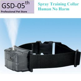 Wholesale Dog Trainer Automatic Pet Human Spray Training Collar Anti Bark Stop Collar for Dog No Harm